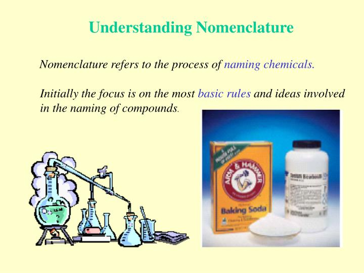 Understanding Nomenclature