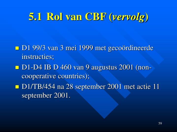 5.1Rol van CBF