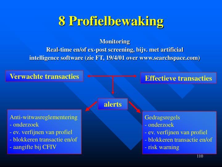 8 Profielbewaking