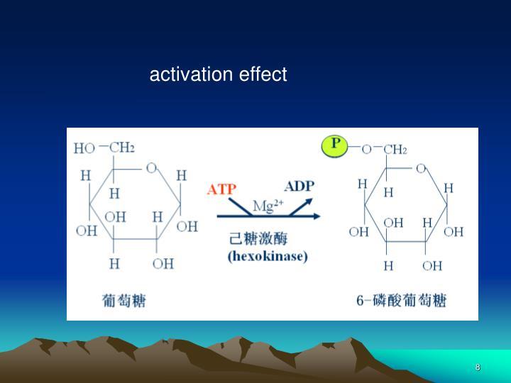 activation effect