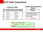oltp table compression1
