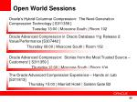 open world sessions