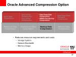 oracle advanced compression option3