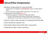 securefiles compression