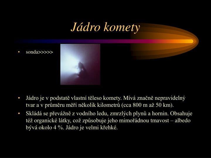 Jádro komety