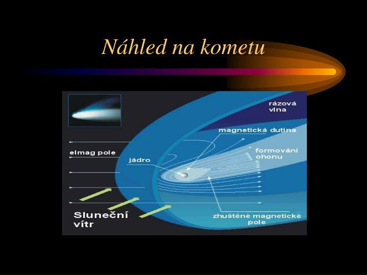 Náhled na kometu