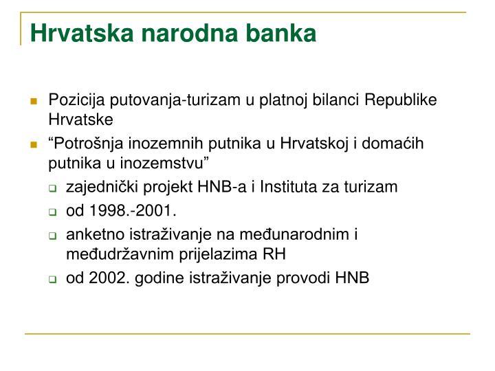 Hrvatska narodna banka