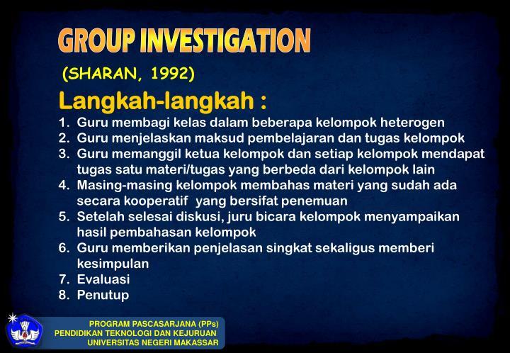 (SHARAN, 1992)
