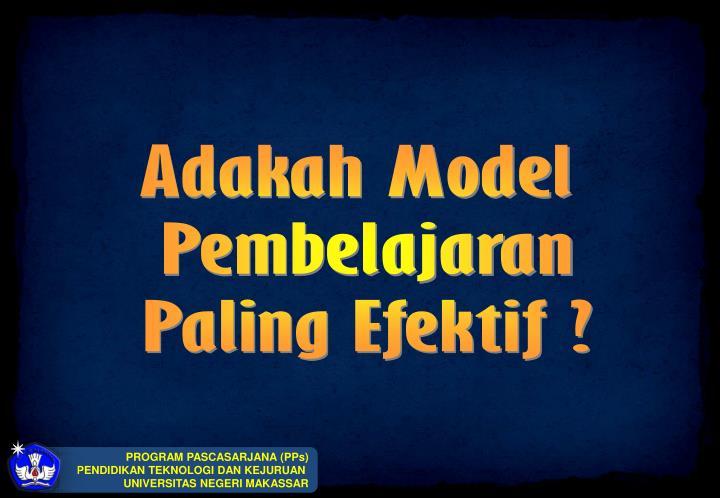Adakah Model