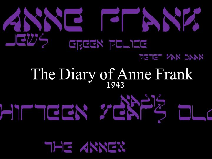 the diary of anne frank response to literature essay