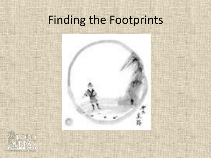 Finding the Footprints