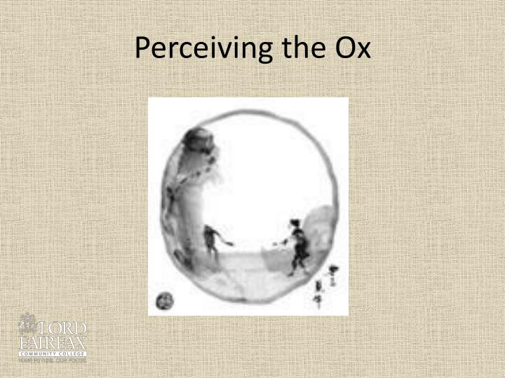 Perceiving the Ox
