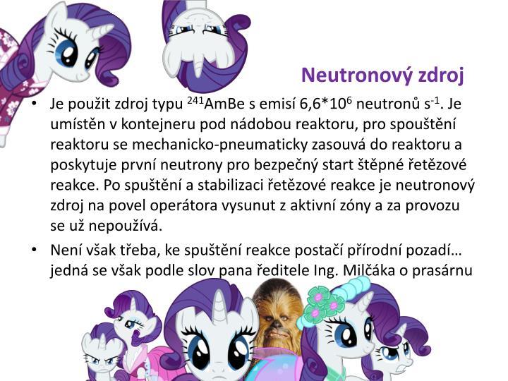 Neutronový zdroj