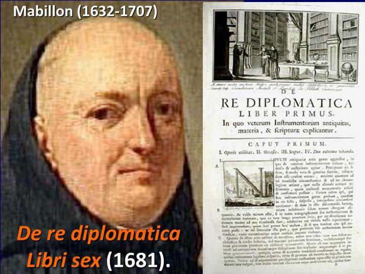 Mabillon (1632-1707)