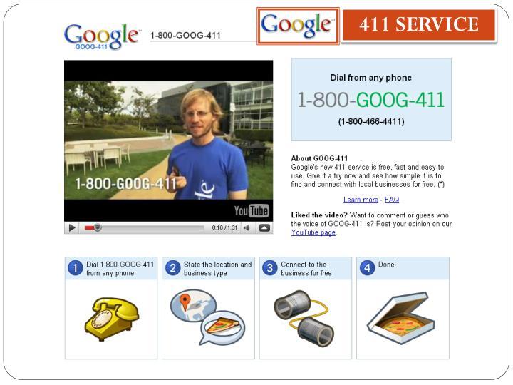 411 SERVICE