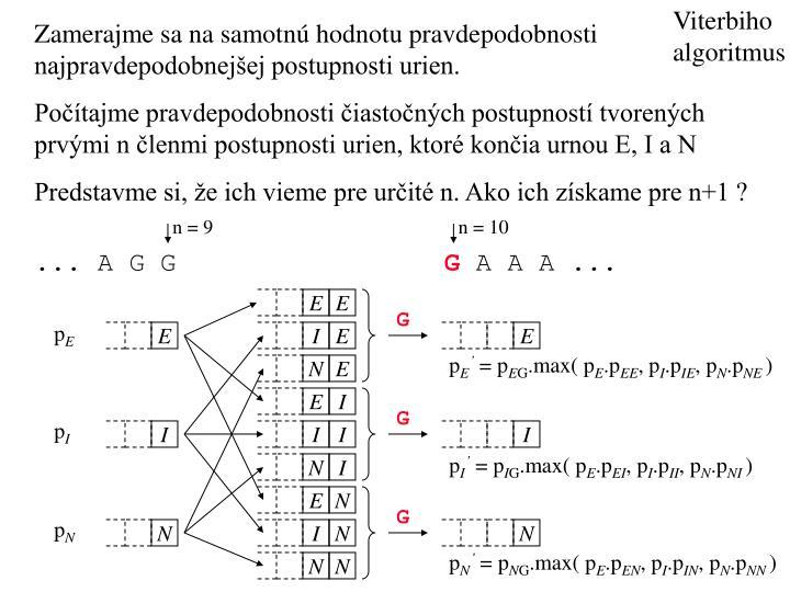 Viterbiho algoritmus
