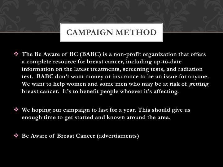 Campaign Method