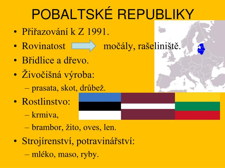 Pobaltsk republiky