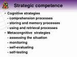 strategic competence