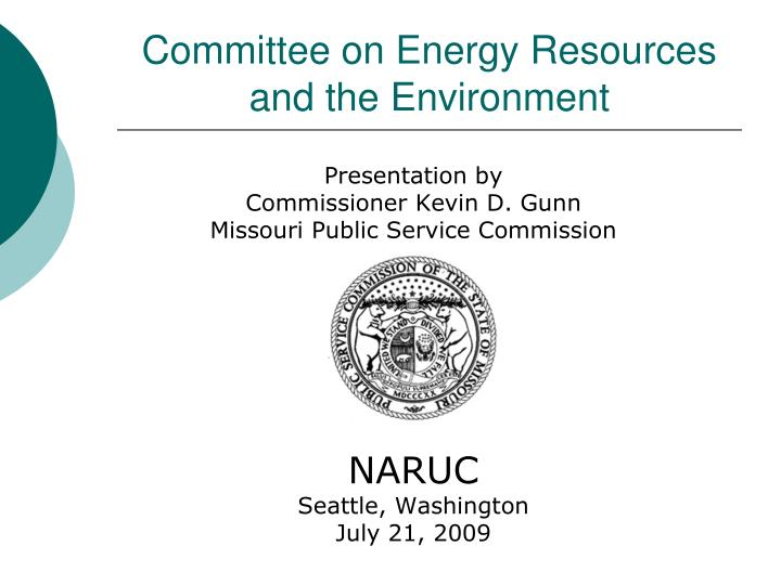 Committee on Energy Resources and the Environment