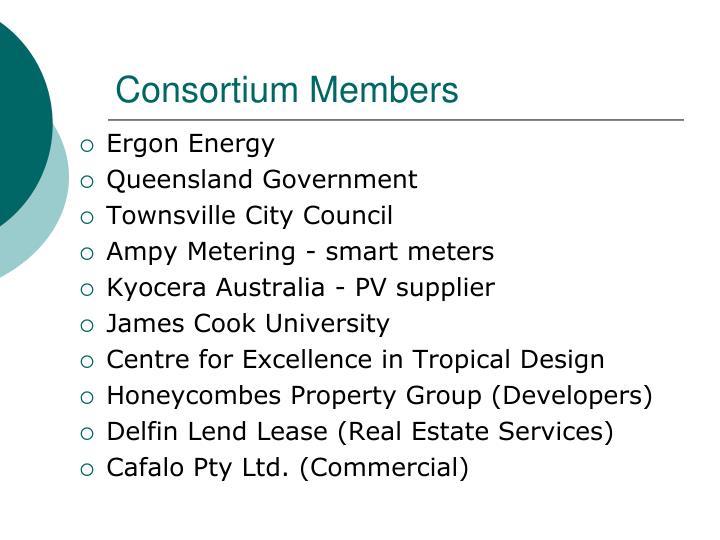 Consortium Members