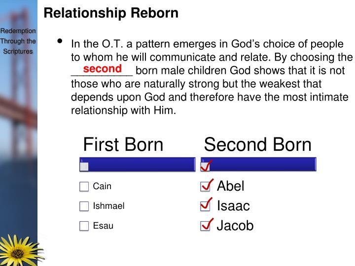 Relationship Reborn