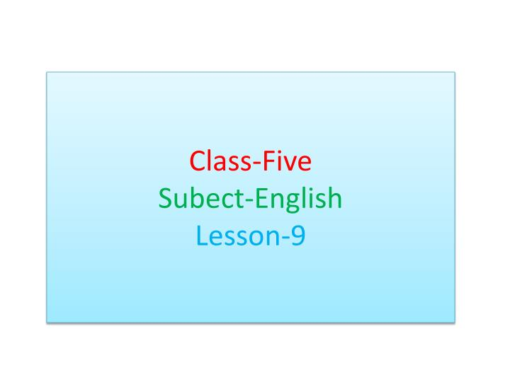 Class-Five