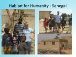 habitat for humanity senegal