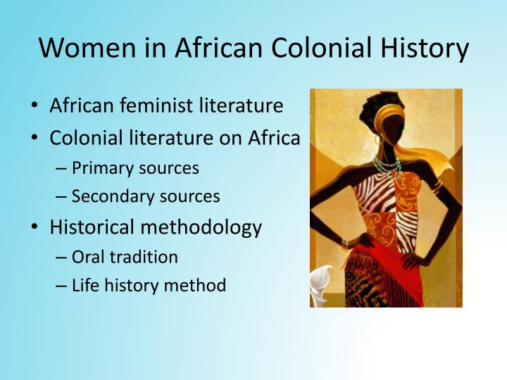 Women in African Colonial History