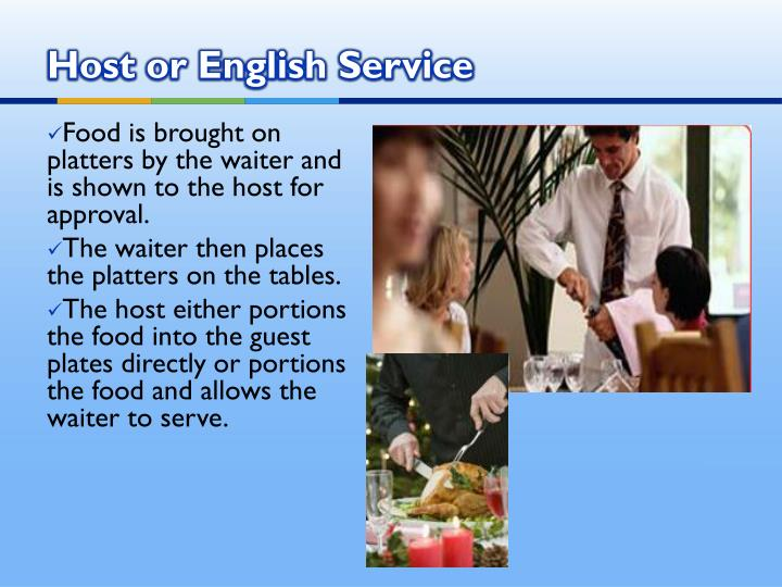 Host or English Service