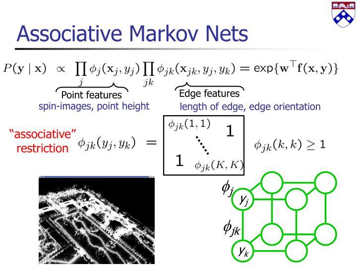 Associative Markov Nets
