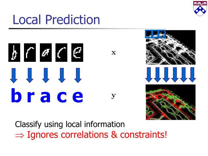 Local Prediction