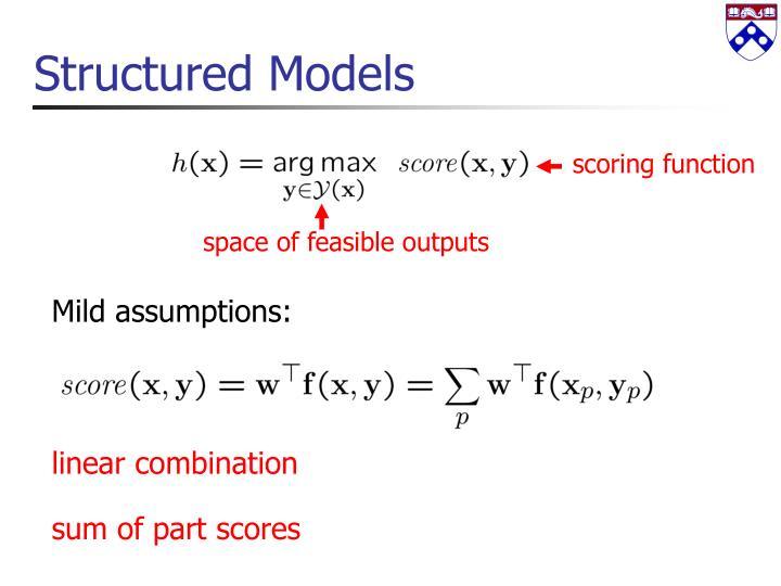 Structured Models