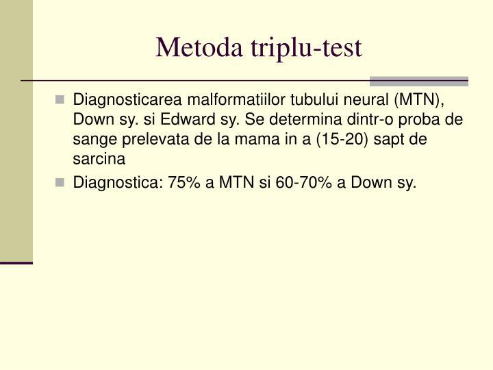 Metoda triplu-test