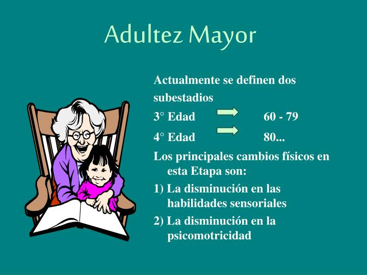 Adultez mayor