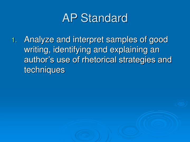 AP Standard