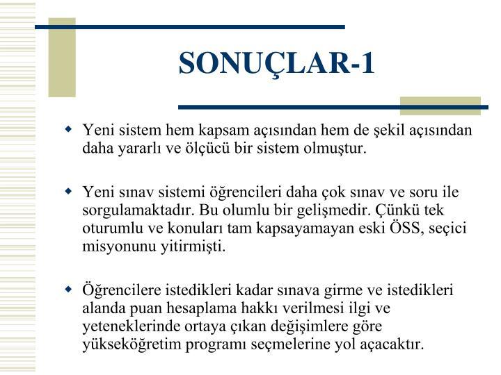 SONUÇLAR-1