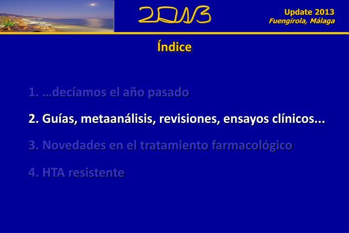 Update 2013