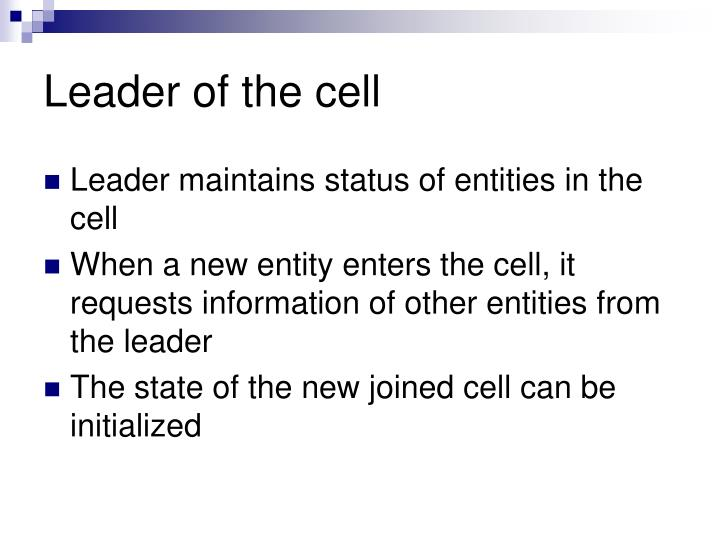 Leader of the cell