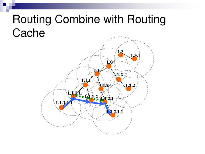 Routing Combine with Routing Cache