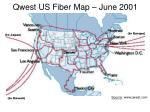 qwest us fiber map june 2001