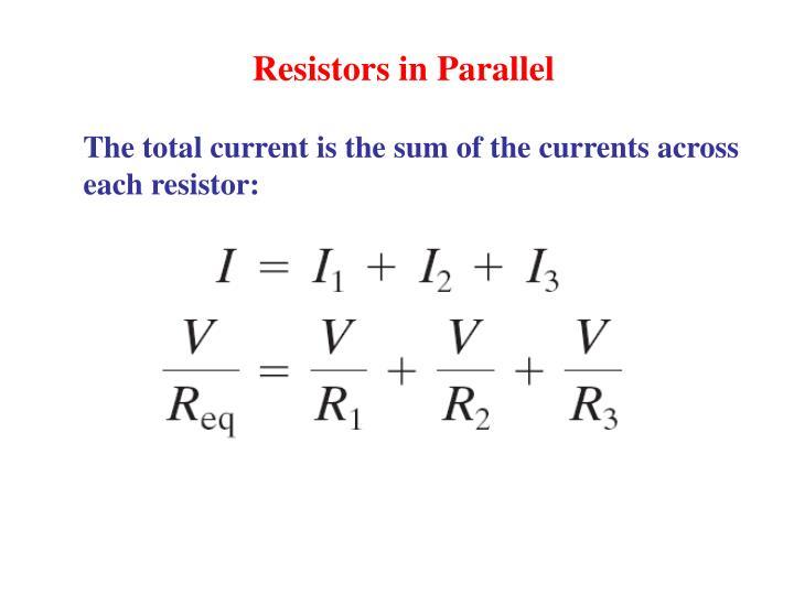 Resistors in Parallel