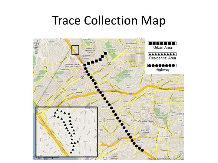 Trace Collection Map