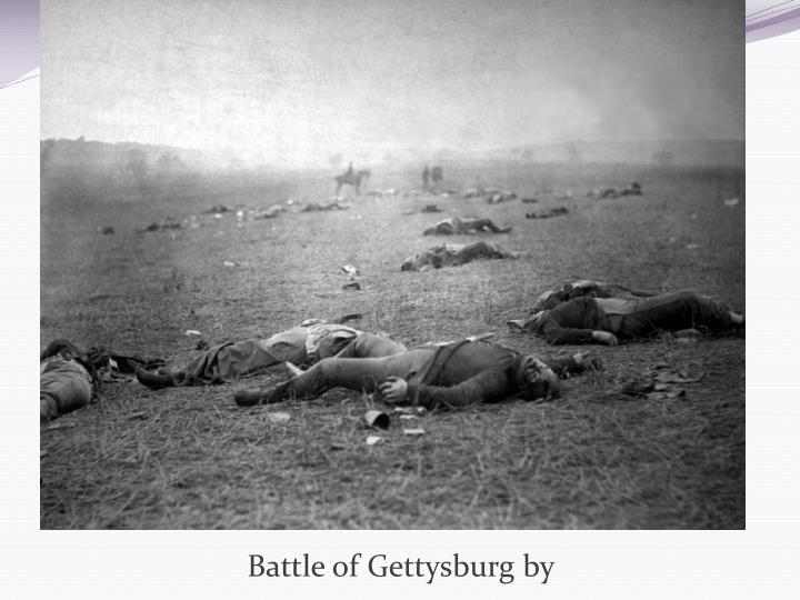 Battle of Gettysburg by