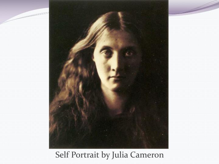 Self Portrait by Julia Cameron