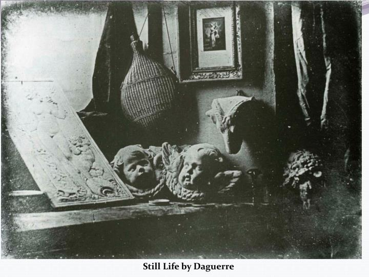 Still Life by Daguerre