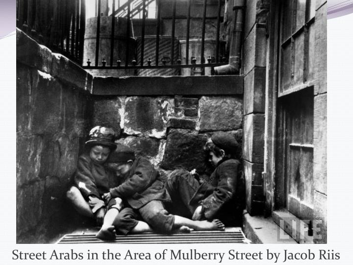 Street Arabs in the Area of Mulberry Street by Jacob Riis