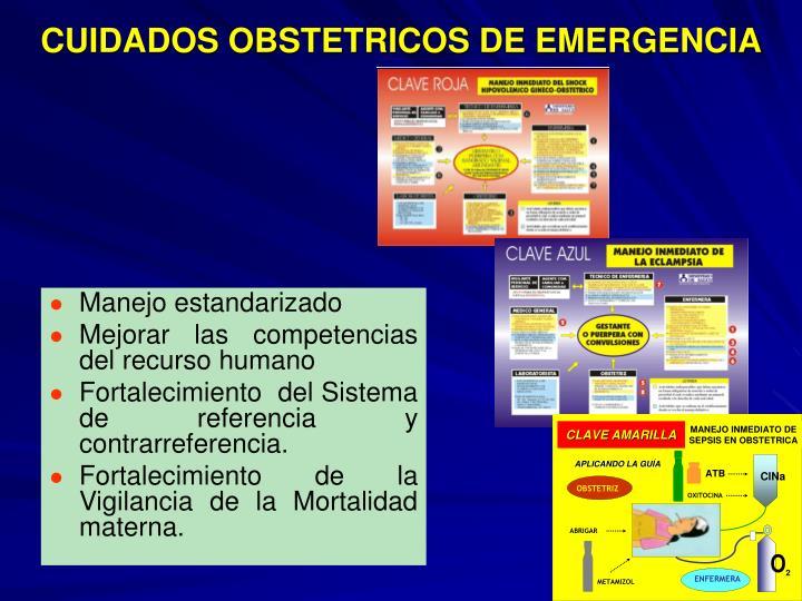CUIDADOS OBSTETRICOS DE EMERGENCIA