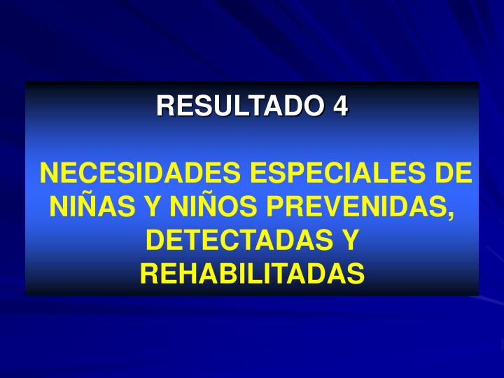 RESULTADO 4