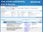 view articles published by prof w nierman